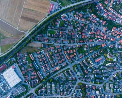 Infrastructure ariel view