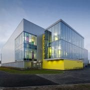 Building made with Kingspan Insulated Panels